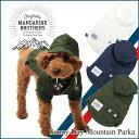 【犬 ジャケット】服 冬 パーカー マウンテンパーカー 小型犬 中型犬 MandarineBrothers/SunnyDayMountainParka(XS〜L...