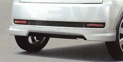 DAIHATSU MOVE ダイハツ ムーヴ エアロリヤロアスカート(SPORZA)(車体色対応)チタン/スポーツマフラー装着車用(送料無料!)