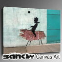BANKSY CANVAS ART バンクシー