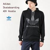 [アディダス オリジナルス] スケートボーディング トレフォイルフーディー [ブラック/ブラック] adidas Skateboarding ADV HOODIE メンズ スウェット パーカー