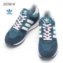 [アディダス オリジナルス] レディース ZX700 [ミネラルブルーS16/ランニングホワイト/クリアピンク] adidas Originals ZX700 W シューズ/スニーカー S78940