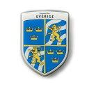 グリルバッジ アームズコレクション スウェーデン カラー AG-09
