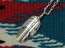 ショッピングネックレス INDIAN JEWELRY NAVAJO FEATHER PENDANT TOP BEN BEGAY] / インディアン ジュエリー ナバホフェザーペンダントトップ [ベンビゲイ]