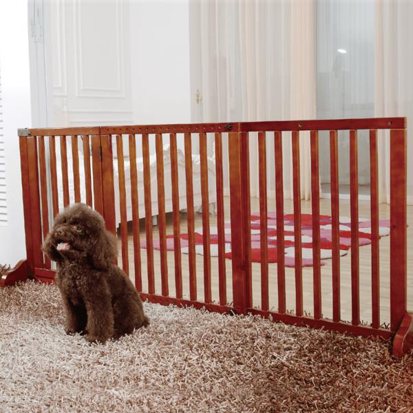 送料無料SimplyPlusドア付きおしゃれ木製ペット/犬ゲートFWm02Sペット用品ペットグッズ犬