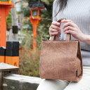 【プレゼント】【日本製】【トート】【レディース】柿渋染 京都帆布バッグ(鞄)「2FP 手提げ」- 帆布生地