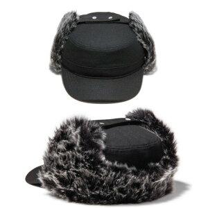 【送料無料】EKBYNEWERAイーケーバイニューエラキャップ【THERANGE】大切な方レンジCAPキャップワークミリタリーファーキルティング耳あて帽子メンズ【メール便不可】