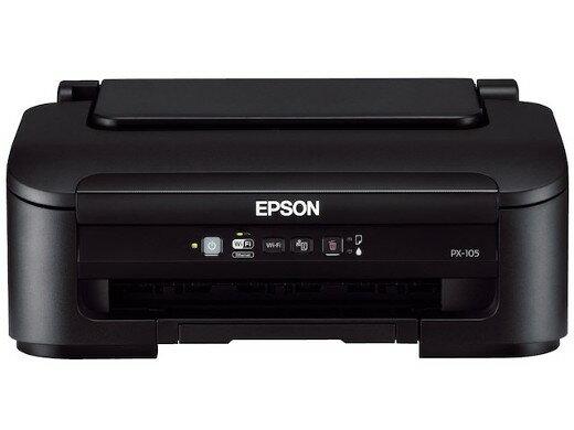 EPSON ビジネスインクジェット PX-105 【プリンタ】 PX-105 コンパクトにビジネス用スペックを集約