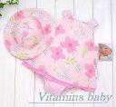【送料無料】★アメリカブランド Vitamins Baby★Vitamins Baby2点セット 袖なしドレス風オー...