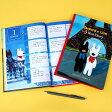 ショッピング手帳 ディアカーズ 3年日記 リサとガスパール 名入れあり 【楽ギフ_包装】【連用日記帳/ダイアリー】【ディアカーズ】