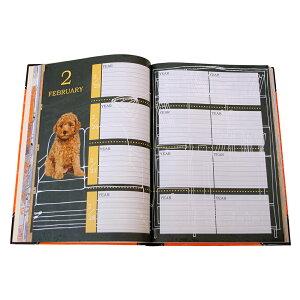 ディアカーズ3年日記-ラブリーパピー名入れあり【楽ギフ_包装】【連用日記帳/ダイアリー】【ディアカーズ】