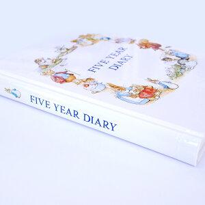 5年日記ピーターラビット名入れなし【楽ギフ_包装】【連用日記帳/ダイアリー】【ディアカーズ】