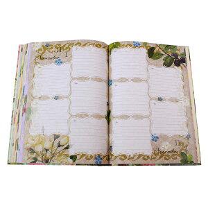 ディアカーズ5年日記バラの宮廷画家・ルドゥーテコレクション名入れあり【楽ギフ_包装】【連用日記帳/ダイアリー】【ディアカーズ】