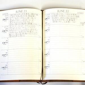 ディアカーズ革カバー5年日記-ピーターラビット名入れあり【楽ギフ_包装】【連用日記帳/ダイアリー】【ディアカーズ】