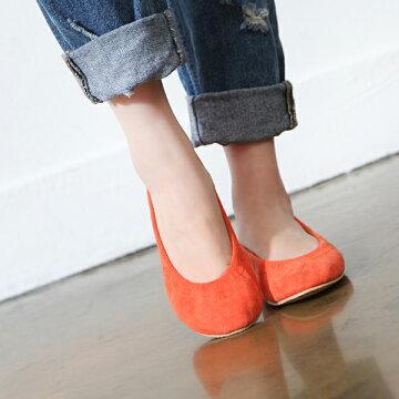バレエシューズ フラットシューズ パンプス レディース ぺたんこ ペタンコ 靴 婦人靴 黒 ブラック セム シンプル