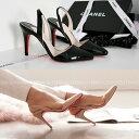 サンダル レディース バックストラップ 黒 ブラック ベージュ ミュール レッドソール ハイヒール 婦人靴 痛くない 歩きやすい 05P03Dec16