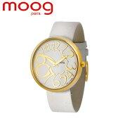 moog ムック 腕時計 時計 M41671 TTC フランス製 ファッション時計 vouge elle 人気商品 ゴールド ホワイト プレゼント お誕生日