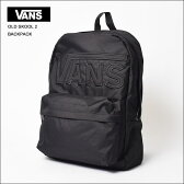 VANS APPARELバンズ【VN000QHRBKA】VANS OLD SKOOL 2 BACKPACKBlack/Blackバックパック/リュック