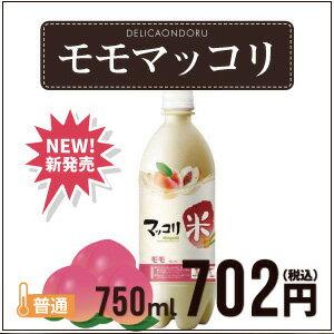 麹醇堂 米マッコリ 桃味 750ml 【ももマッコリ】【韓国お酒】