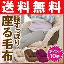 (送料無料&ポイント10倍) コジット 腰楽すっぽり座れる毛布 こたつ 背中 腰 の 冷え対策 背もたれ クッション 座布団 あったか NHKためしてガッテンで紹介!座る毛布 腰楽すっぽり座れる毛布(ポイント10倍) 通販