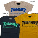 THRASHER スラッシャー SKATEBORD MAGAZINE KIDS キッズ Tシャツ