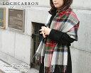 大判ストール <シルバードレススチュアート> 厚手 ラムズウール100% タータン 英国王室御愛用 Lochcarron of scotland ロキャロン タータンチェック ストール ショール マフラー エリザベス女王生誕90周年 秋冬 防寒 かわいい 送料無料
