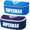 【メール便可】スーパーマン フルオープン ペンケース ポーチ レディース メンズ SUPERMAN MARVEL 化粧ポーチ キッズ 学校 カジュアル 人気 筆箱 ギフト 男子 男の子 ボーイズ 中学 高校 プレゼント 贈り物 あす楽