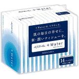 エリエール+Water(ポケット) 14組(28枚)×14パック