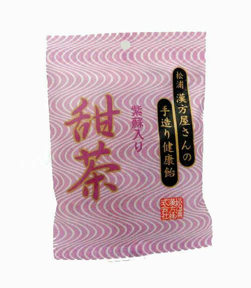 送料540円〜松浦漢方甜茶飴60g(てんちゃあめテンチャアメ)健康食品定形外郵便不可