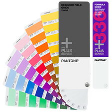 Colorings book for 336 colors of PANTONE (bread ton) PLUS designer field guide / coated paper & new color supplement