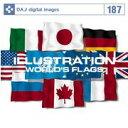 【訳あり】DAJ 187 ILLUSTRATION / WORLD'S FLAGS CD-ROM素材集 送料無料 あす楽 ロイヤリティ フリー cd-rom画像 cd-rom写真 写真 写真素材 素材