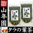 【国産100%】タラの葉茶 無農薬 100g×2袋セット 宮...