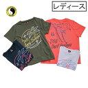 ショッピングカントリー T&C (タウン&カントリー) Tシャツ 半袖 レディース サーフ テニス ランニング フィットネス ロゴ カジュアル t&c surf designs ティーアンドシーサーフデザイン dl1204