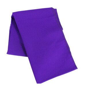 【エイサー衣装】 モス布 紫 Aタイプ(ロックあり) 2.3m 帯やサージに