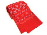 ティーサージ(手ぬぐい) 赤 織り