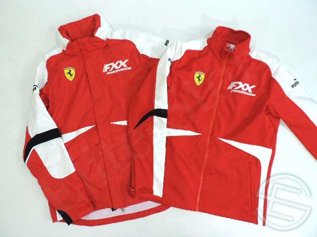 【送料無料】 フェラーリ・コルセ・クリエンティ 2013年 FXXプログラム版 支給品 インナーソフトシェル付き 2ピース ジャケット メンズ M new 新品 (海外直輸入 F1 非売品グッズ) 貴重なFXXプログラム版のウェア !!