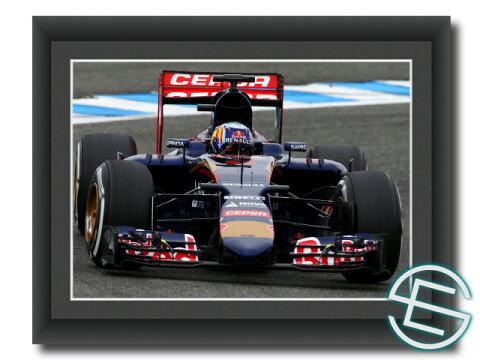【メール便送料無料】 カルロス・サインツ Jr. 2015年 トロ・ロッソ へレス1 A4サイズ 生写真(海外直輸入 F1 グッズ)