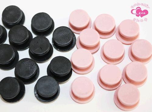 クロックス用 ジビッツ デコ素材 デコパーツ パーツ デコ 激安 アクセサリー 黒 ブラック ピンク シンプル 子供 大人 男性 メンズ 女性 レディース