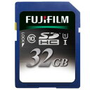 フジフイルム SDHCカード 32GB SDHC-032G-C10U1 [UHS-1(Class10)]