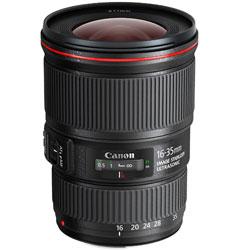 交換レンズ「EF 16-35mm F4L IS USM」