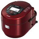 日立IHジャー炊飯器圧力&スチーム真空熱封RZ-W1000K(R)メタリックレッド《デジカメオンライン》