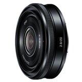 ソニー E 20mm F2.8 SEL20F28 (Sony 交換レンズ) 《発送の目安:約2-3週間》