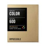 インポッシブル ポラロイドインスタントフィルム 600 カラー ゴールドフレーム