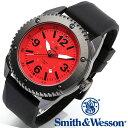 [正規品] スミス&ウェッソン Smith & Wesson ミリタリー腕時計 KNIVES WATCH RED/BLACK SWW-693-RD [あす楽]
