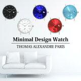 注目のミニマルデザインウォッチ メンズでもレディースでも使える腕時計 スモールセコンドを搭載したクラシックな時計 トーマ・アレクサンドル Thomas Alexandre