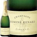ワイン スパークリング シャンパン 白 発泡 [NV] ノミネ・ルナール・ブリュット   シャンパーニュ 750ml