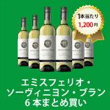 【デイリーワイン6本おまとめ買い】[750ml x 6] エミスフェリオ・ソーヴィニヨン・ブラン(スクリューキャップ)