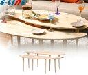 Natural signature センターテーブル COFFEE 天然木 お客様組立 高さの違う2つのテーブル CENTERTABLECO「代引不可」「送料860円」