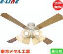 東京メタル工業 QJ-46WW6RCND-LEDN10 LEDシーリングファンライト 8畳から10畳用 昼白色 リモコン付 暖房冷房切り替え可能 QJ46WW6RCNDLEDN10 「送料無料」