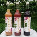 【ふるさと納税】ぶどうジュース 3種飲み比べ 500ml×3本セット フルーツ 葡萄