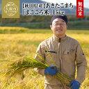 ショッピング無洗米 【ふるさと納税】120P9201 秋田県特別栽培米あきたこまち「まごころ米(無洗米)」15kg